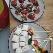 Aperitivos dulces y salados