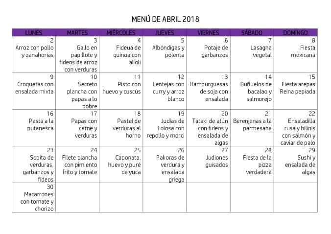 MENÚ DE ABRIL 2018-001