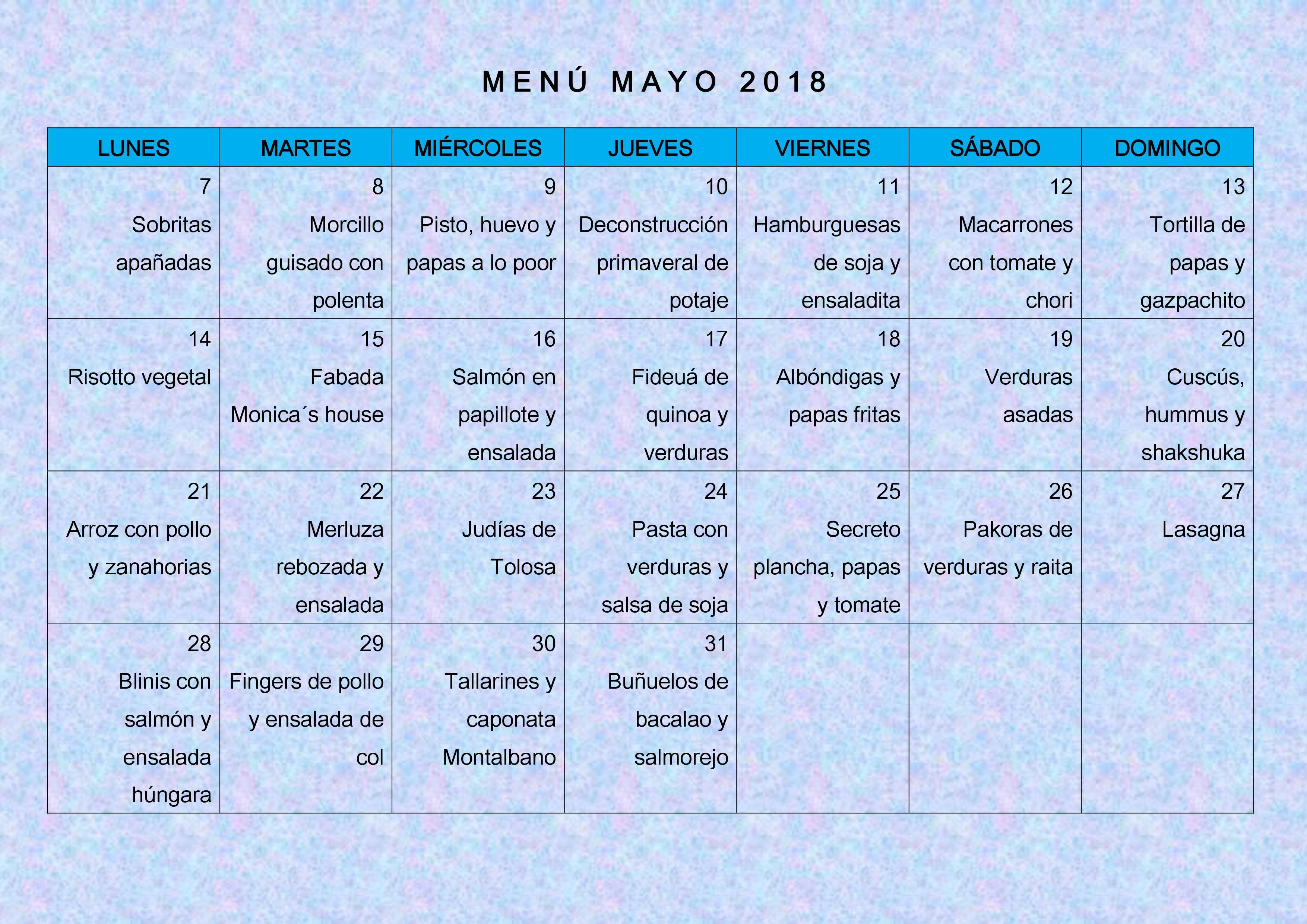 Dieta mediterranea menu mensual pdf